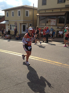 Dottie Caitlyn on the Run at Ironman Lake Placid 2012