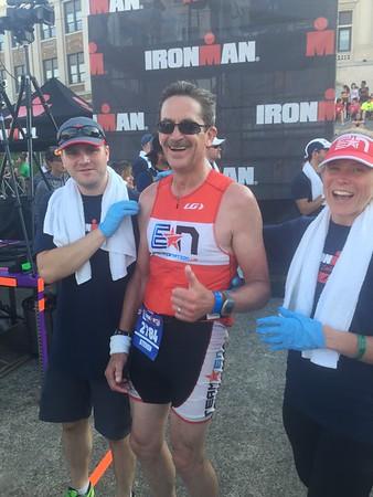 Steve West (Finisher) & Laura Becker (Volunteer!)
